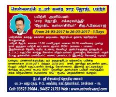 Advanced K.P Stellar Astrology training classes in Chennai, Porur