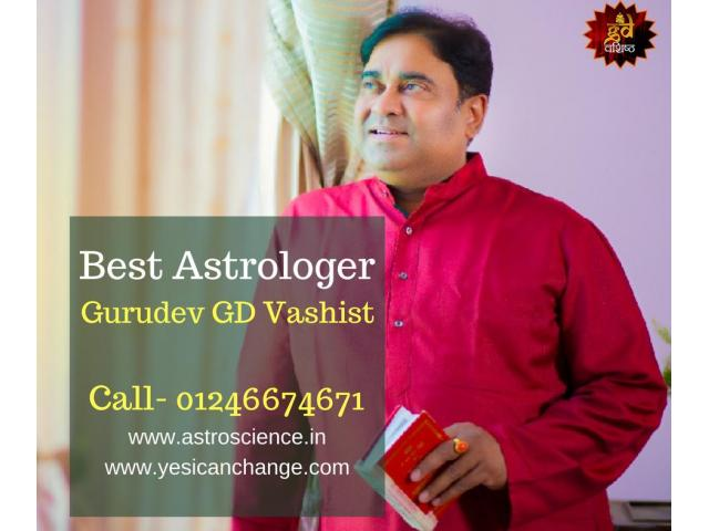 Best Astrologer In Gurgaon Gurudev GD Vashist