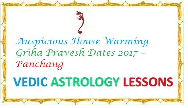 Auspicious Property Purchase Dates 2017 – Subha Muhurtham