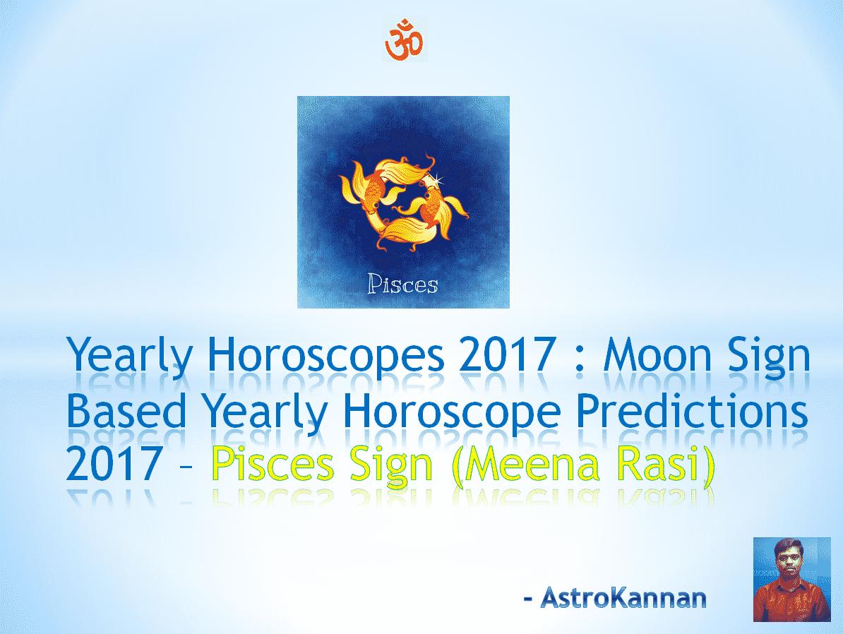 1fdc3943a Yearly Horoscopes 2017 | 2017 PISCES HOROSCOPE / 2017 MEENA HOROSCOPE