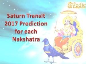 SATURN TRANSIT 2017 EFFECTS 27 NAKSHATRAS CONSTELLATION PREDICTIONS