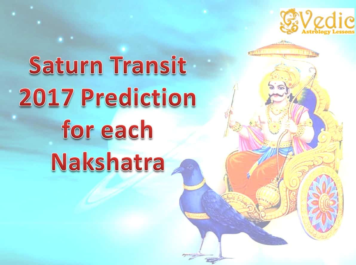 Saturn Transit 2017 Effects 27 Nakshatras Constellation Predictions