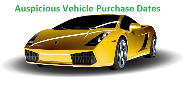 Auspicious Vehicle Purchase Dates 2019 – Panchang - Learn