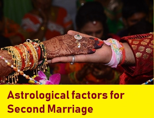 second marriage in astrology